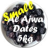 Small Al Ajwa Dates 5 kg - Bulk Packaging